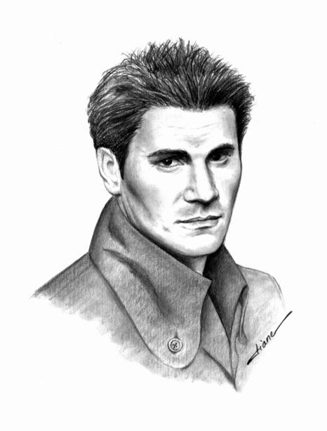 David Boreanaz portrait